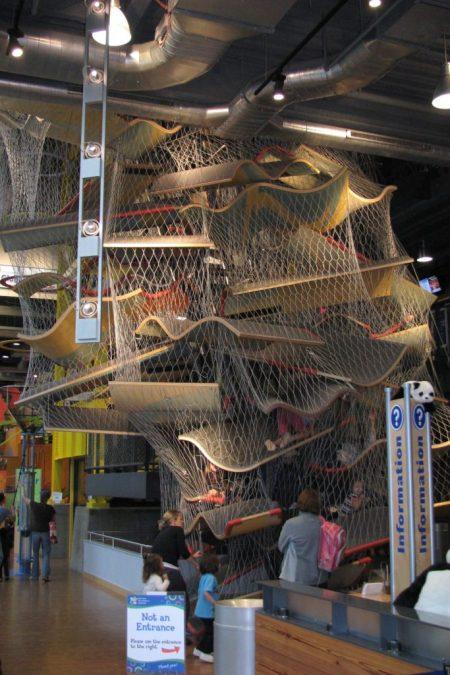 New Balance Climb at Boston Children's Museum