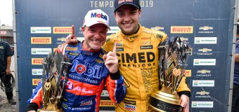 Fraga e Barrichello vencem no Velopark