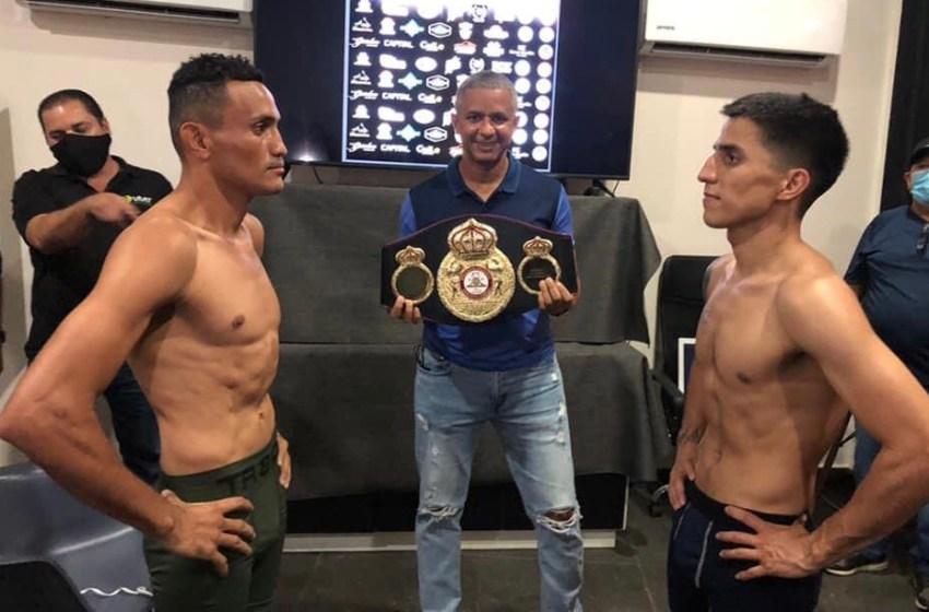 """CHACAL"" GONZÁLEZ Y ALEXANDER MEJIA DISPUTAN CINTO CONTINENTAL WBA EN CULIACÁN"
