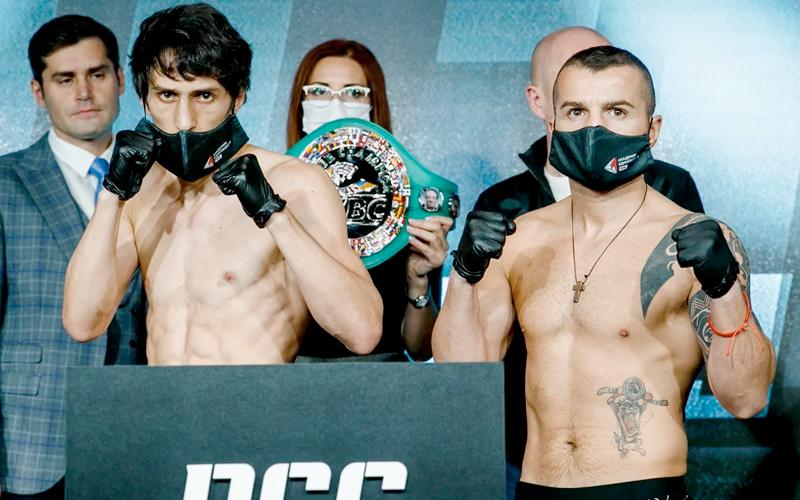 Abdullaev y Zlaticanin listos para subir al ring