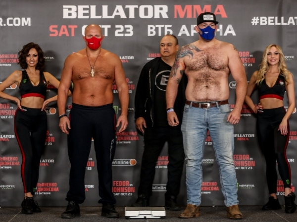Emelianenko 233.5 y Tim Johnson 264 en Moscú