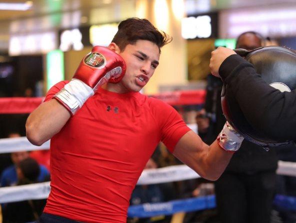Ryan García sufre lesión y pospone pelea con JoJo Díaz