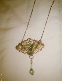 Necklace Steampunk Serp & Copper 6-13