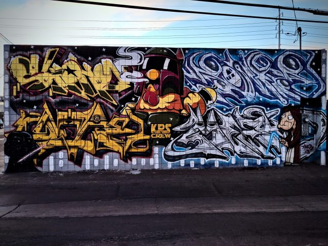 Family Guy Graffiti by KRS Crew