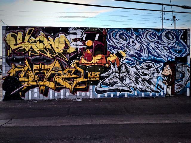 Family Guy Graffiti by KRS Crew