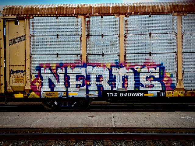Nerds Graffiti