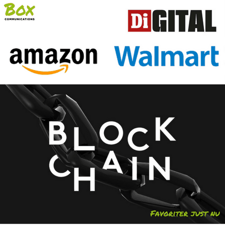 Favoritlänkar just nu: Amazon, Walmart, blockchain och bristande digital kompetens