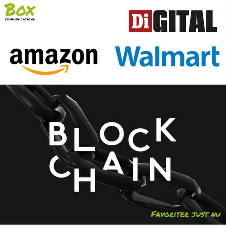 Favoritlänkar just nu: Amazon, Walmart, blockchain och bristande digital kompetens