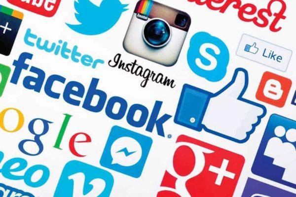 Sociala medier, kanalstrategi, Facebook, blogg, Twitter, Instagram, Google, Youtube, Vimeo