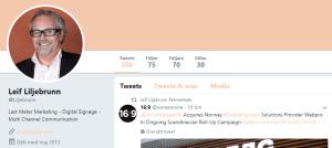Börs-vd twitter, Twitter, vd, topplistan, tvåa, Box Communications