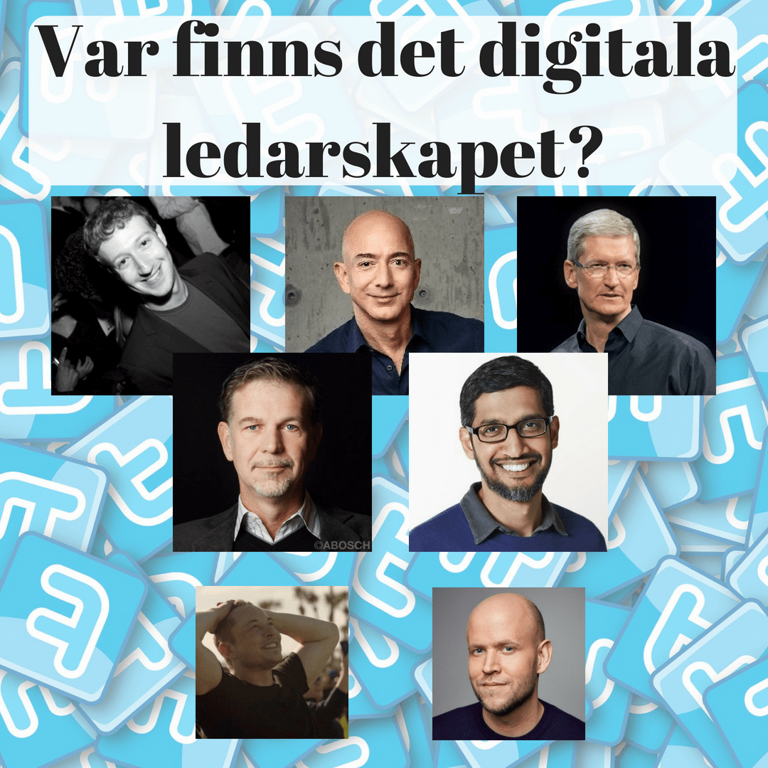 Digitalt ledarskap, vd:ar, twitter, kartläggning, Box Communications, Daniel Ek, Spotify