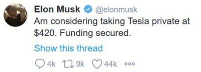 Elon Musk, Twitter, Kommunikation, IR, Investor Relations, Investerarrelationer