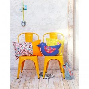 chaise en metal vintage