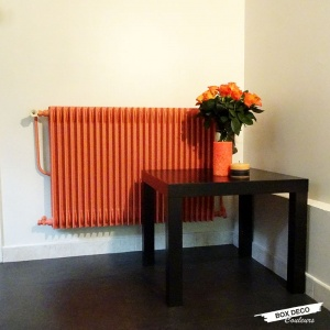 peindre un radiateur en fonte
