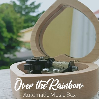 Somewhere Over The Rainbow Automatic Music Box