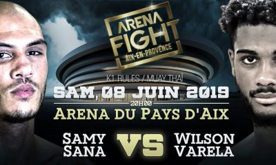 ARENA FIGHT - VARELA relève le défi SANA !