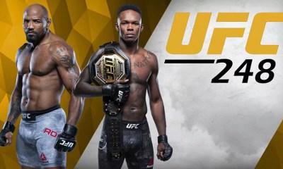 UFC 248 - ADESANYA vs ROMERO - Résultats des combats