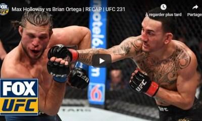 UFC 231 - Max HOLLOWAY vs Brian ORTEGA - Full Fight Video HL
