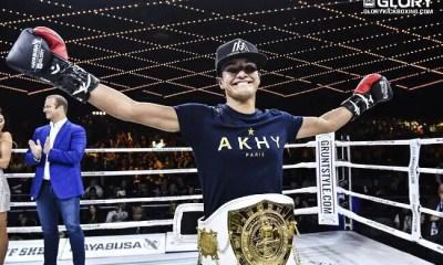 Anissa MEKSEN est championne du GLORY !