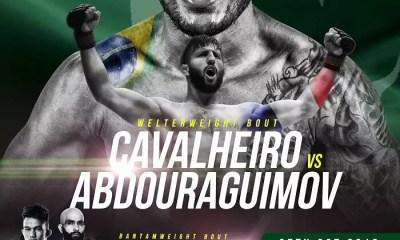 Abdoul ABDOURAGUIMOV vs. Rodrigo CAVALHEIRO en Main Event du BRAVE 17