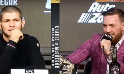VIDEO - Conor McGregor répond à l'attaque de Khabib Nurmagomedov après sa défaite