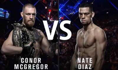 Conor McGregor vs Nate Diaz - Full Fight Video - UFC 196
