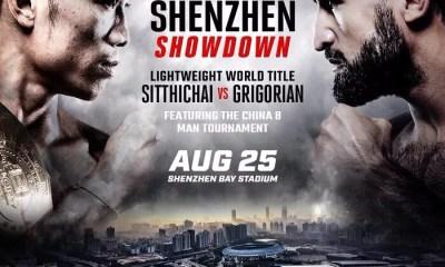 GLORY 57 - SHENZHEN - SITTICHAI vs GRIGORIAN - Round 4 !