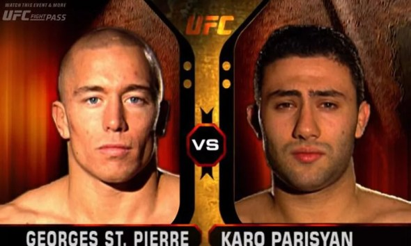 Georges ST-PIERRE vs Karo PARISYAN - Full Fight Video - UFC