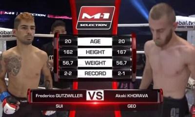Frederico GUTZWILLER vs Akaki KHORAVA - combat MMA - M-1 Challenge - Fight Video