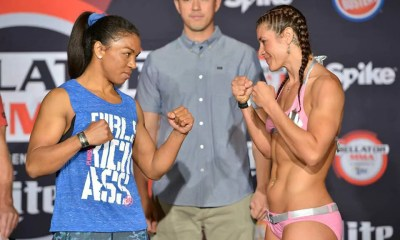 Iony Razafiarion vs Bryanna Fissori - Fight Video - Bellator 139