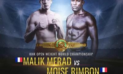MMA - Malik MERAD vs Moise RIMBON pour un tournoi à 100.000 $ au BRAVE 29