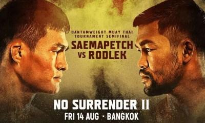 ONE Championship: NO Surrender II - Résultats et Vidéo HL