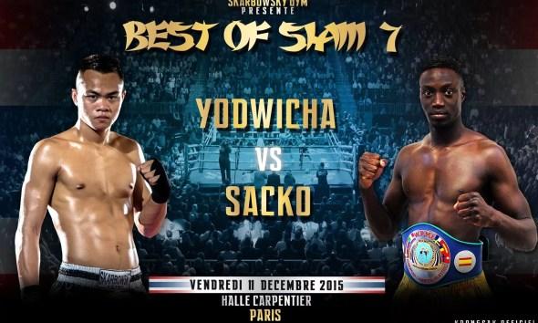 Bobo Sacko vs Yodwicha - Full Fight Video - Best of Siam 7