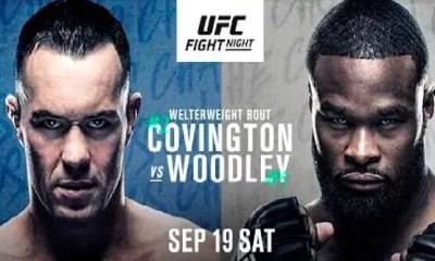UFC VEGAS 11 - Résultats Covington vs Woodley