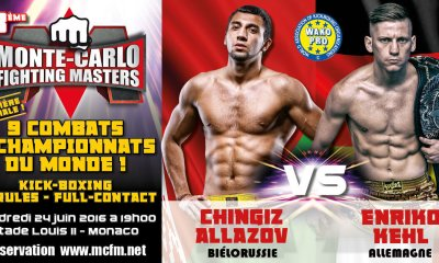 Chingiz ALLAZOV vs Enriko KEHL - Full Fight Vidéo - MCFM 3