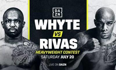 Dillian Whyte vs Oscar Rivas - Combat de Boxe - Video Replay