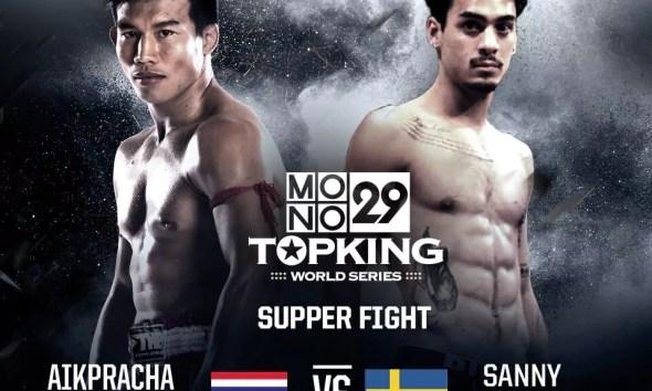 Aikpracha Meenayothin vs Sanny Dahlbeck - Full Fight Video - TOP KING 8