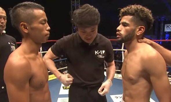 Akram HAMIDI vs Yuki TAKEI - Full Fight Video - K-1 World GP