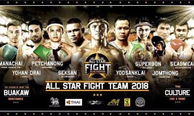 YODSANKLAI et BUAKAW en France pour le All Star Fight 8 !