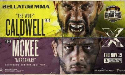 Résultats du Bellator 253 - Caldwell vs. McKee