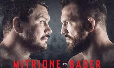 BELLATOR MMA - Emelianenko vs Sonnen et Mitrione vs Badr annoncés pour le mois d'octobre