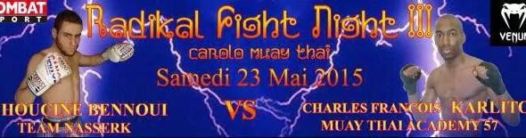 Karim Bennoui vs Masahiro Yamamoto - Full Fight Video - RISE 92
