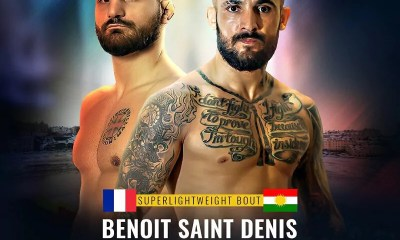 Benoit Saint-Denis vs Mario Saeed au Brave CF 38 en Suède
