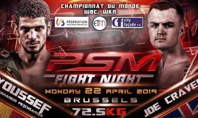 PSM Fight Night - Les BOUGHANEM de retour en Force