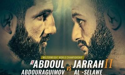 MMA - La revanche Abdouraguimov vs Al-Silawi prévue au Brave CF 27