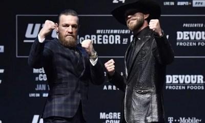UFC 246 - McGregor vs Cowbow - Replay Video de la conférence de presse et Face à Face