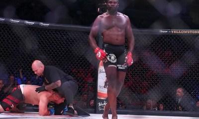 Cheick KONGO met Javy AYALA KO au BELLATOR 199 - VIDEO