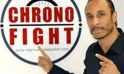 CHRONO FIGHT - 100/100 Muaythai -  NUMERO 6.