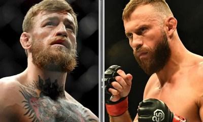Conor McGregor vs Cowboy Cerrone booké pour le 18 janvier à l'UFC 246