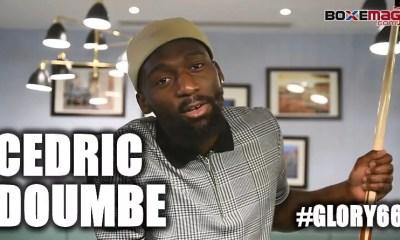 Cedric DOUMBE nous parle de son prochain combat au GLORY, du MMA et de l'UFC, de sa rivalité avec Yohan LIDON etc..
